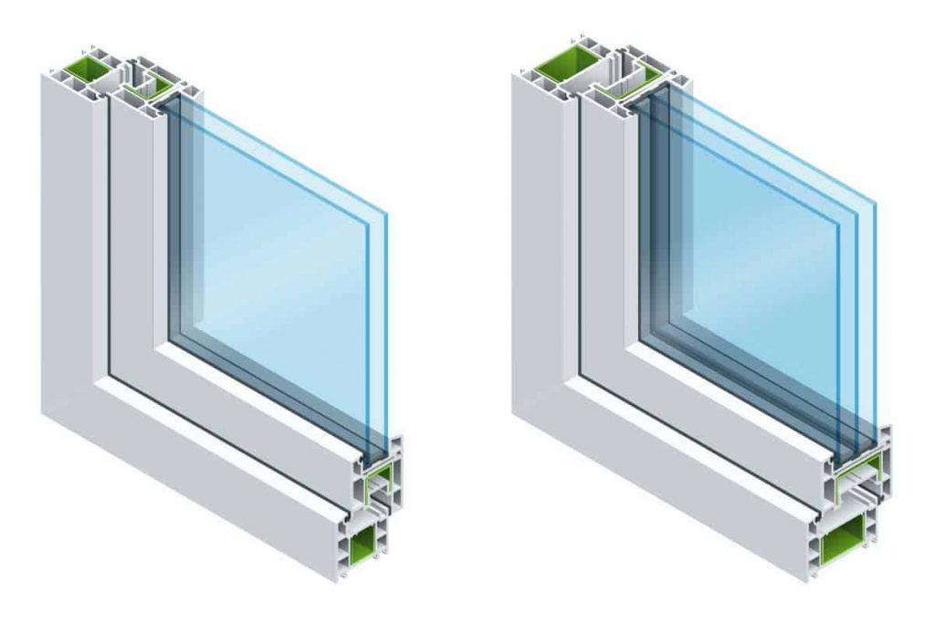 Double Pane or Triple Pane Glass Windows Houston